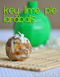 Key Lime Pie Larabar Balls [quick + easy!]