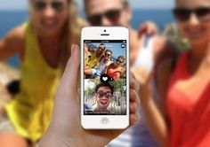 The Frontback app lets you shoot a photo of yourself and what's in front of you… all at once.