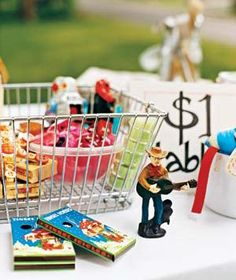 Great list of garage sale prices from Real Simple Magazine