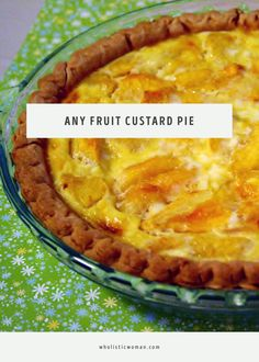 Any Fruit Custard Pi