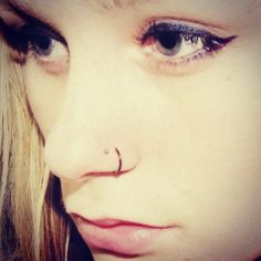 Going with the double nose piercing on the same side. Hopefully getting it done this week :)