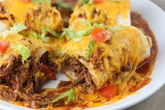 Crock pot    Smothered Burritos....