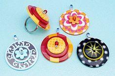 diy button jewelry