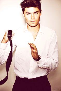 Zac Efron, super hot.