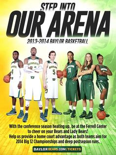 #Baylor men's and women's basketball are each ranked No. 7 in the nation. #SicEm #FillTheFerrell