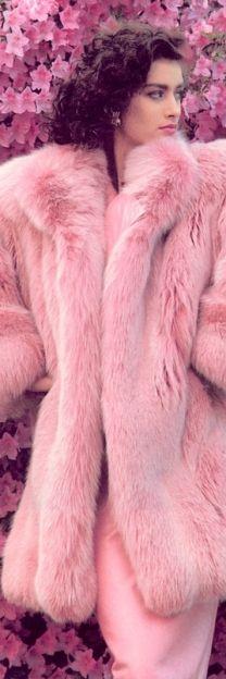 #pink #fur