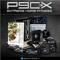P90X: Tony Horton's 90-Day Extreme Home Fitness Workout DVD Program
