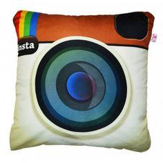 $65 Almofada Instagram - Para sua casa - Acessórios Toy Camera >>