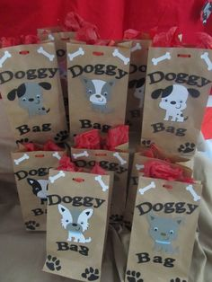 Puppy Party Goody Bags