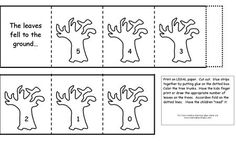 Counting Backwards Fall Leaf Booklet from Making Learning Fun.
