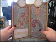 Scrapbook Tutorial - Kathryn's Paper Bag Mini Album, Video 5 of 5