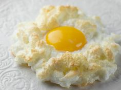 Eggs in Clouds - easy and dramatic and different!