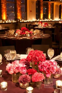 Dinner reception decoration