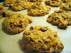 Easy Pumpkin Cookies and they're healthy too!