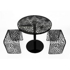 Coral Cafe Table and Chairs