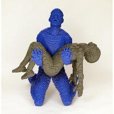 Lego art: sculptures by Nathan Sawaya