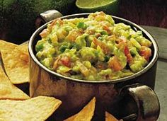I can make a meal out of chips and dip :P  http://www.bettycrocker.com/recipes/guacamole/3a8001fd-c26f-4047-a5f9-09393db4b882?sc=Mexican%20Appetizer%20Recipes&term=Mexican%20Appetizer&itemId=141eaa12-969d-42f0-b5bb-7ce9c7b922d9