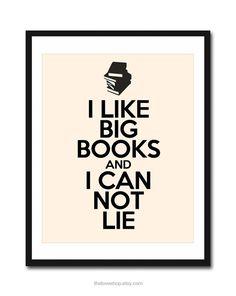 I like little books, too.