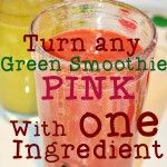 Fruity Beetroot Hidden Greens Smoothie for Anemia (Green Thickie)
