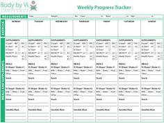 week progress, vi week, weight loss, progress tracker