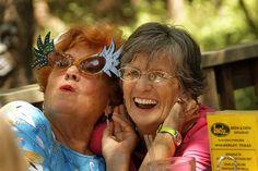 old ladies have fun