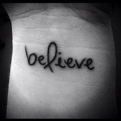 #believe #tattoo pink ribbons, pink ribbon tattoos, purple ribbon tattoo, believe tattoos, orange cancer ribbon tattoos