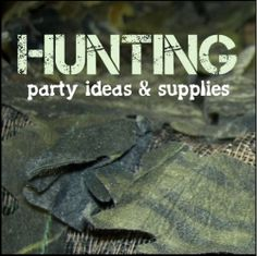Do you have a special man or boy in your life who loves to hunt? What hunting enthusiast wouldn't love a hunting theme party? A hunting theme party is perfect for birthdays or even retirement parties. They are also great for both young and old hunting fans. Here are some great ideas, decorations and other party supplies to make your hunting themed event a success.