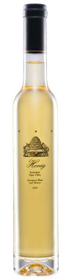 Honig Late Harvest Sauvignon Blanc - A rich dessert wine, with aromas and flavors of apricots, orange peel, clove, vanilla caramel, honey and beeswax. The finish is refreshing, with hints of lemon and grapefruit.