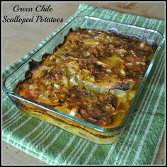 Green Chile Scalloped Potatoes