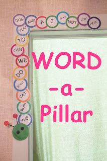 Building a Word-a-Pillar. For first grade we could make some awesome high 5 sentences using calendars during shared writing
