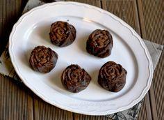Mini pastelitos de chocolate