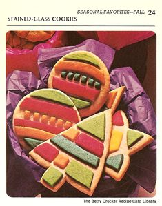 Stained-Glass Cookies  - Betty Crocker