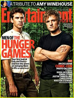 Liam Hemsworth & Josh Hutcherson in The Hunger Games!