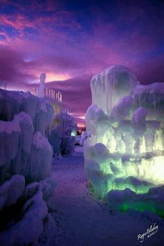 Ice Castle's in Utah and Colorado