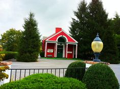 Christmas at the Depot, White Sulphur Springs. Open year round. Historic train depot dating to 1931.