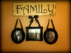 Family Picture hanging