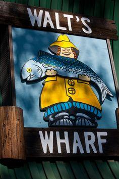 Walt's Wharf, Seal Beach ... good fish!