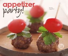 The Appetizer Party Assortment makes entertaining easy with a handy assortment of products and a menu for recipe ideas.