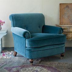 Rachel Ashwell Shabby Chic Couture Duchess Velvet Chair