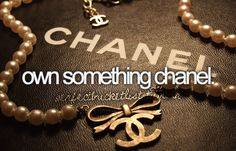 Own something chanel.