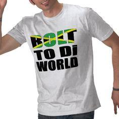 #UsainBolt To Di World Jamaican Flag T Shirt #TeamJamaica #London2012