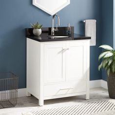 "30"""" Radke Mahogany Vanity for Undermount Sink"