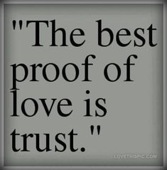 34 Best Ever Trust Quotes For Love Relationship - FunPulp