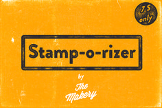 Stamp-o-rizer by The Makery on Creative Market