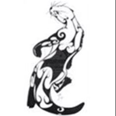 I love the idea of an otter for my next  tattoo to honor my Ottawa heritage.