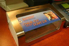 McDonald's donation cannister. Heavy duty!