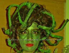 Best Homemade Medusa Costume Ever!... Coolest Halloween Costume Contest