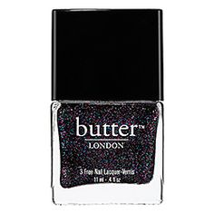 butter LONDON - 3 Free Nail Lacquer in the Black Knight