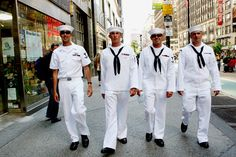 Navy Fleet Week. Such a fun time in the city :)