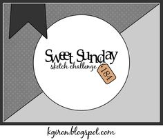 Sweet Sunday Sketch Challenge